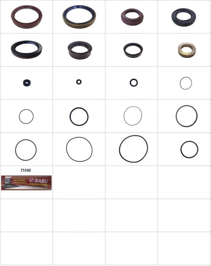Componentes do conjunto  - Completo
