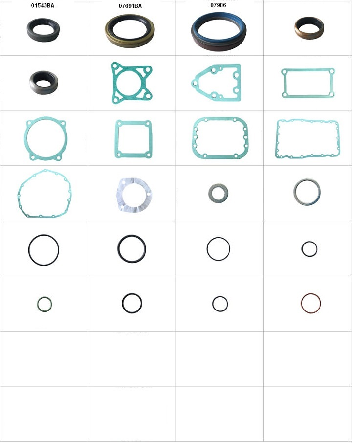 Componentes do conjunto  - Reparo da Reduzida