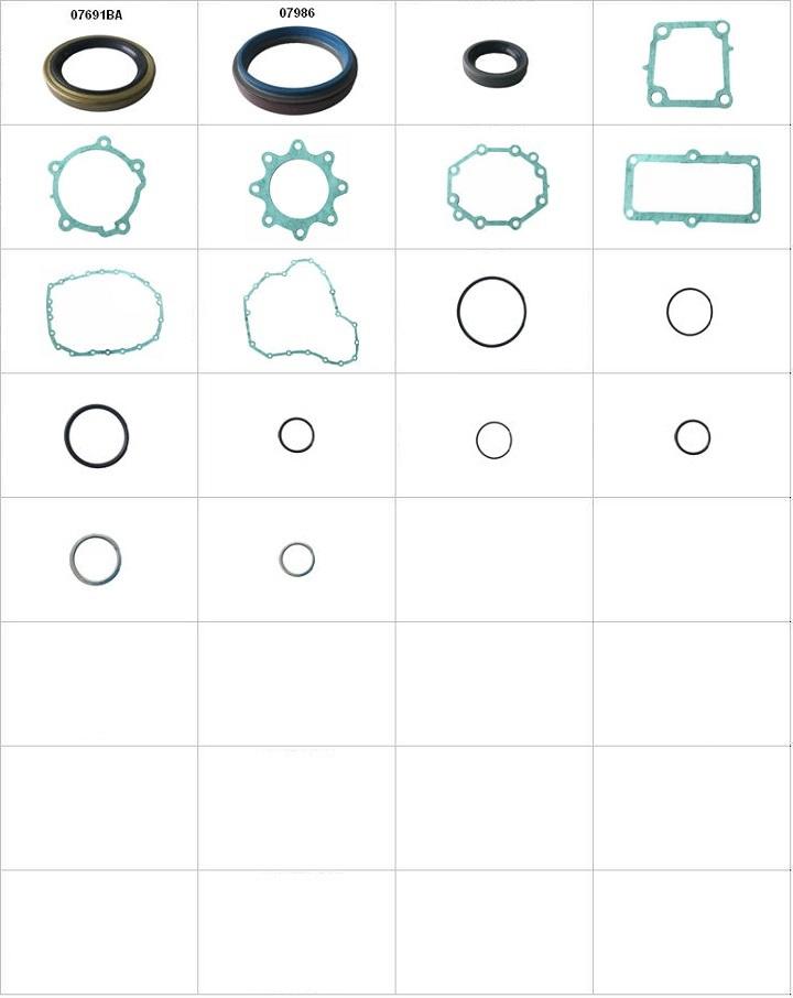 Componentes do conjunto  - Reparo da Transferência