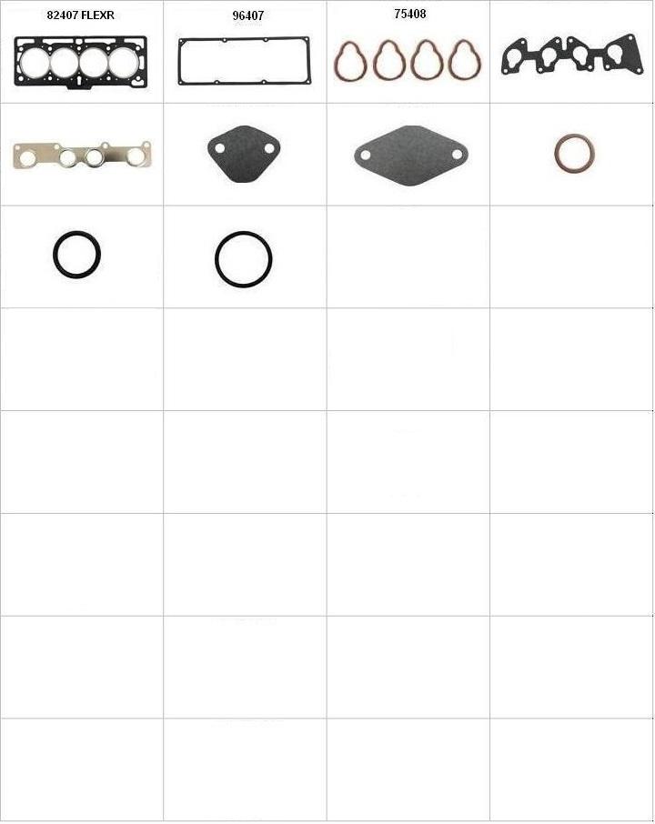 Componentes do conjunto - Sem Tampão